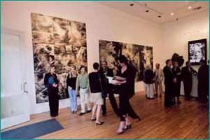 The Art of Adi Da Samraj on display at the Louis Stern Fine Arts Gallery